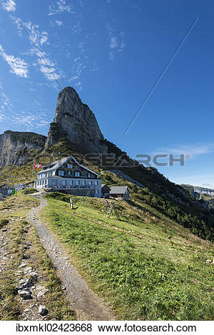 "Pictures of ""The mountain inn on the Staubern, Staubernkanzel."