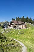 "Stock Photograph of ""The Saentis summit, Alpstein mountain range."
