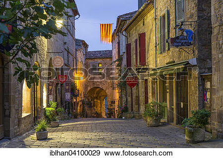 Stock Photograph of Alleyway, inner gate of the historic centre.