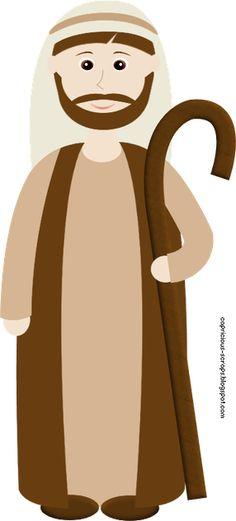 Nativity Innkeeper Clipart.