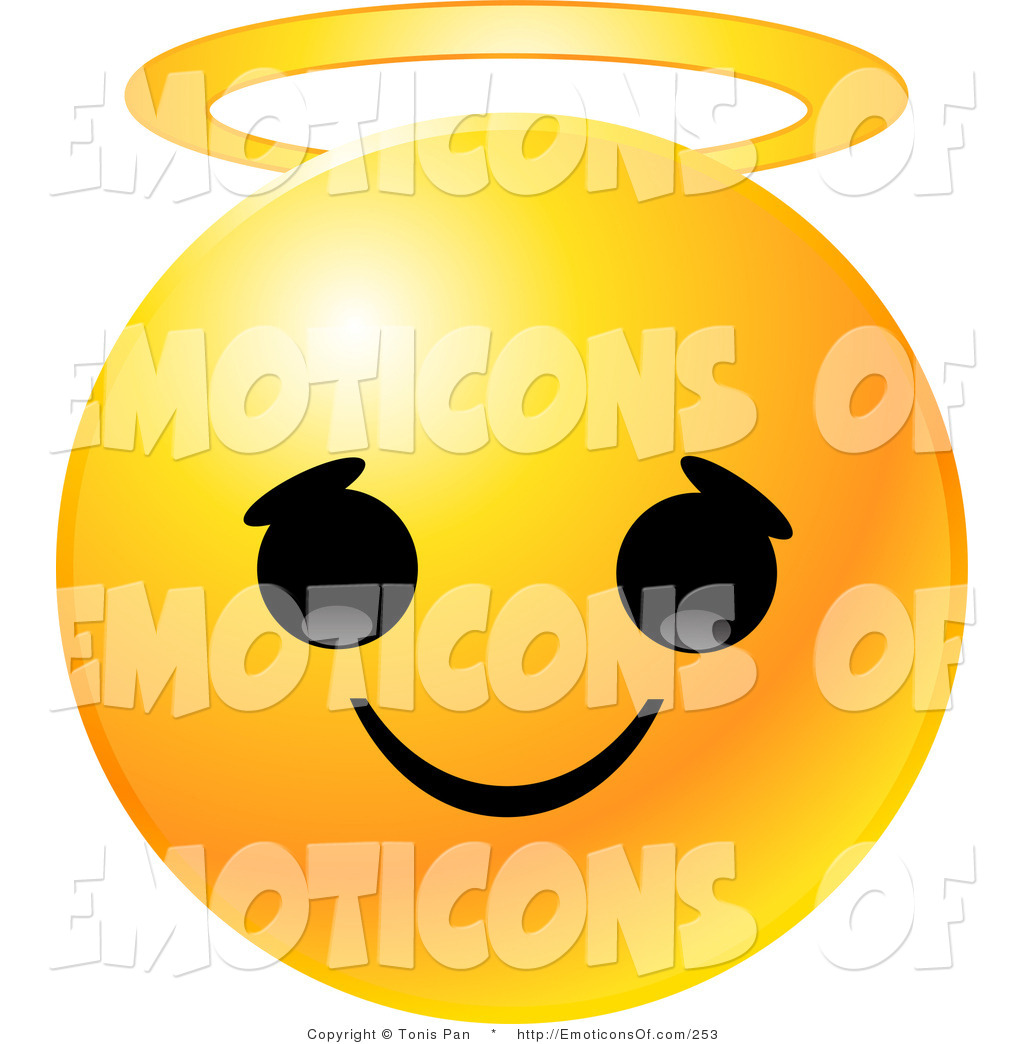 Royalty Free Innocent Stock Emoticon Designs.