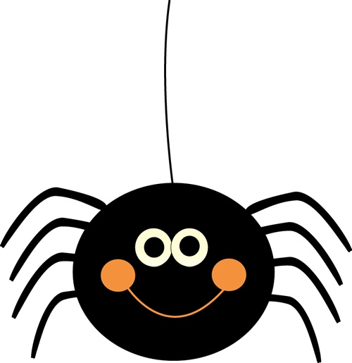 Innocent Spider Clipart.