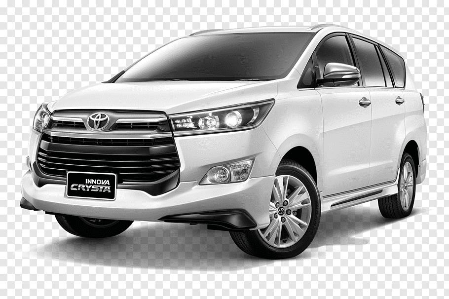 White Toyota Innova Crysta SUV, Toyota RAV4 Car Minivan.