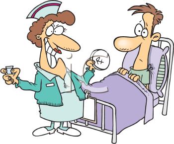 Patient Teaching Clipart.