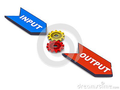 Input output clipart.