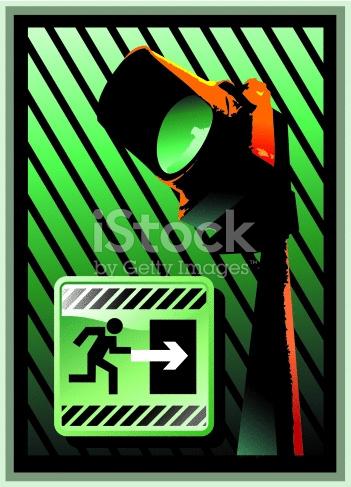 Green Light Input Sign stock photo 134198523.