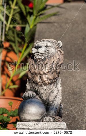 Lion Sculpture Stock Photos, Royalty.