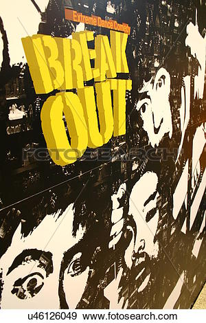 Stock Photograph of street graffiti in Insadong u46126049.