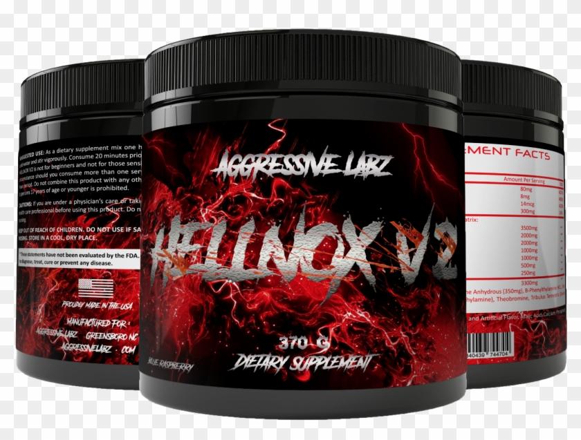 Aggressive Labz Hellnox V2 25 Servings.