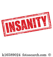 Insanity Clipart Illustrations. 101 insanity clip art vector EPS.