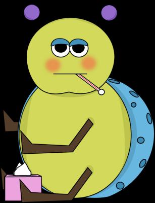 Flu Bug Clip Art.