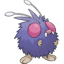 Venonat, the Insect Pokémon. Venonat has a round body covered in.