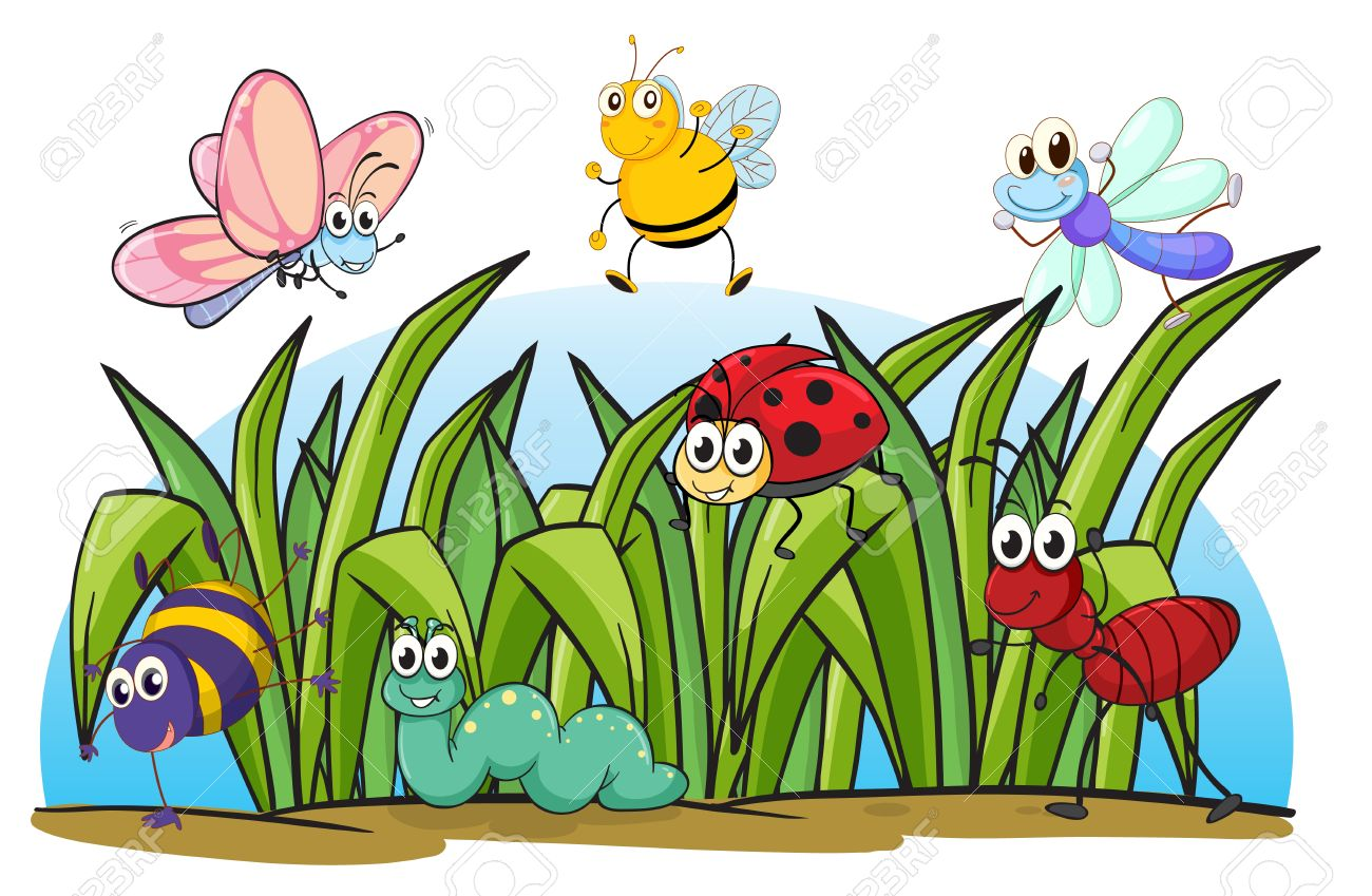 Showing post & media for Cartoon grass and bugs.