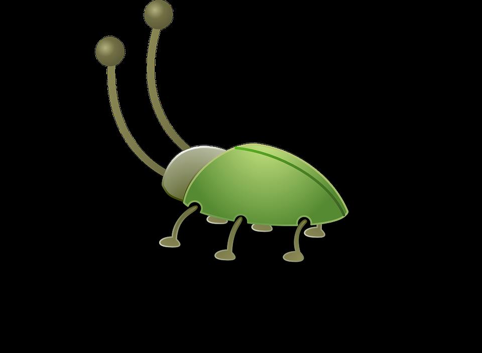 Bug antenna clipart.