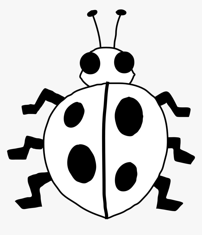 Ladybug Outline Ladybug On Flower Clipart Free Images.