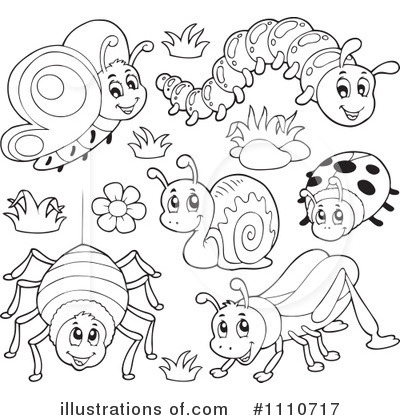 Insects clipart black and white 5 » Clipart Station.