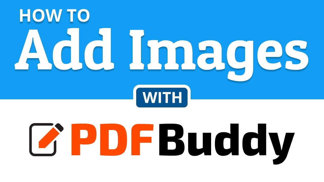 How to add images to a PDF file.