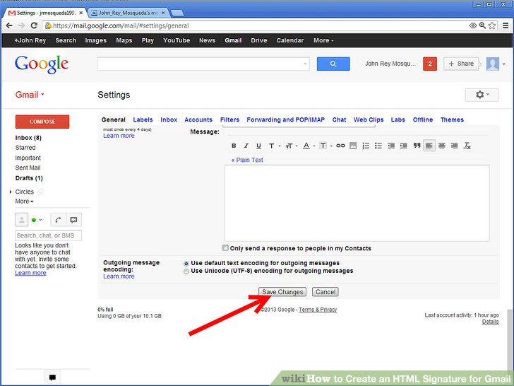 How to Create an HTML Signature for Gmail: 10 Steps.