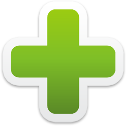 Add Icon — Colorful Stickers Set: insert, green, plus #2474.