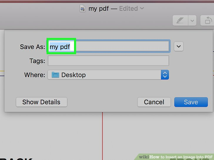 Easy Ways to Insert an Image into a PDF.