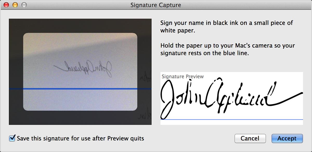 how do I add a signature to a pdf document.