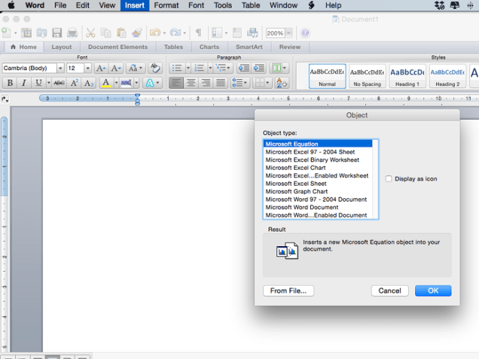 How To Insert a PDF into Word.