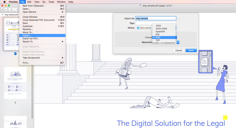 The Easiest Way to Add an Image to a PDF on Mac.