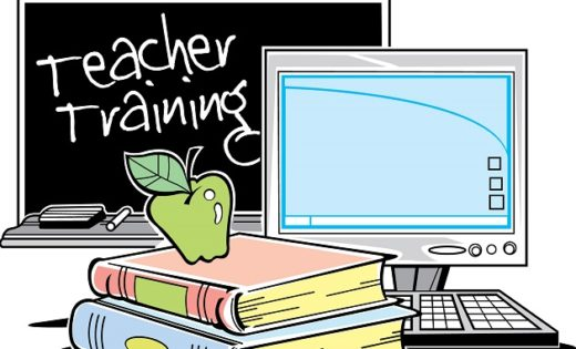In Service Training For Teachers Clipart.