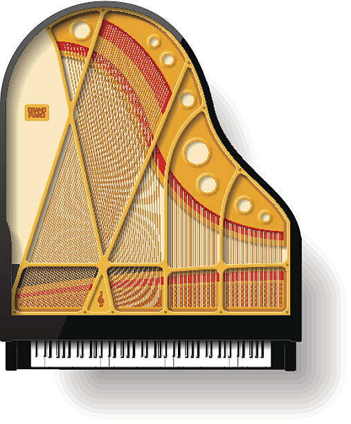 Piano Inside Clip Art, Vector Images & Illustrations.