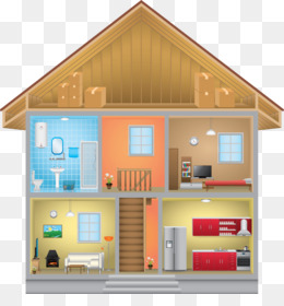 House Inside PNG and House Inside Transparent Clipart Free.