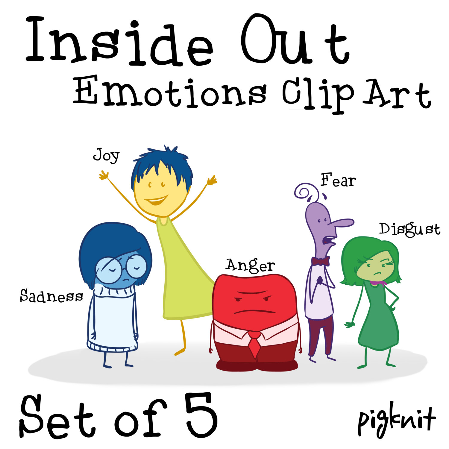 Disney Inside Out Clipart.