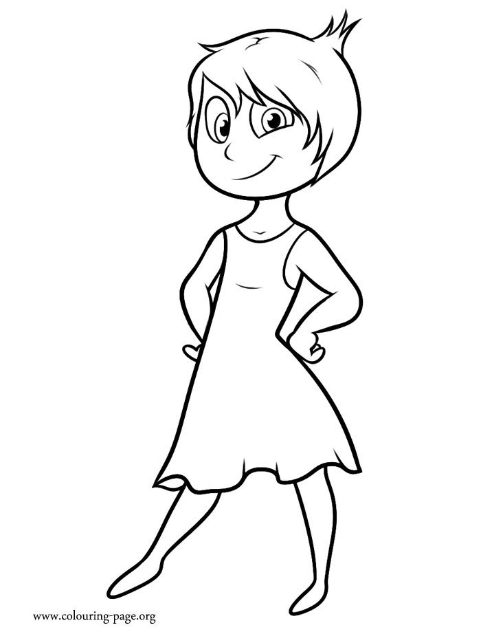 Inside Out Coloring Pages Riley. Inside. Download Coloring Pages.