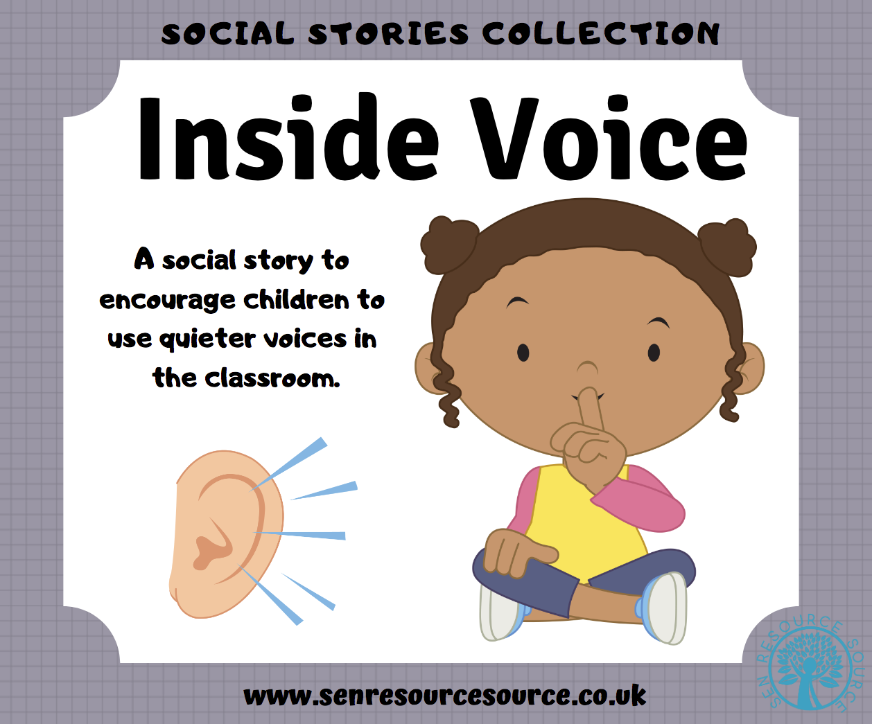 Using an Inside Voice Social Story.