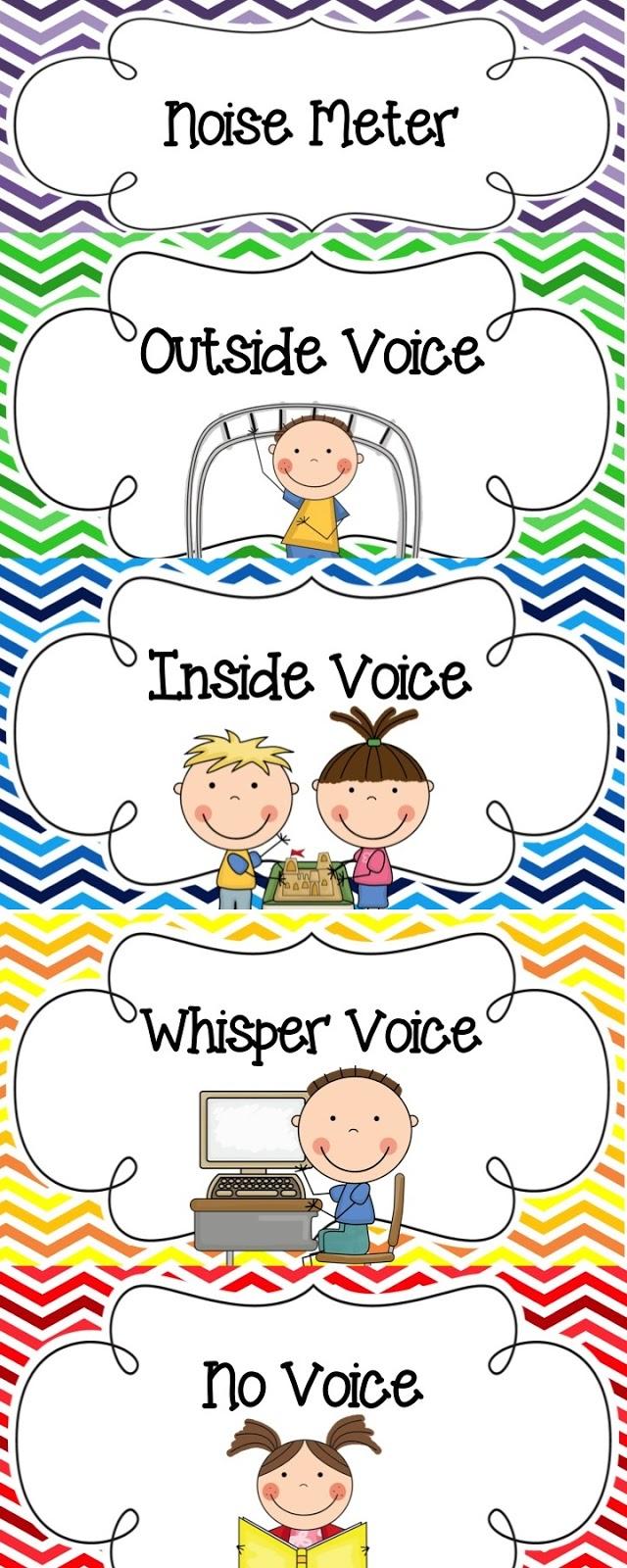 Inside Voices Clipart.