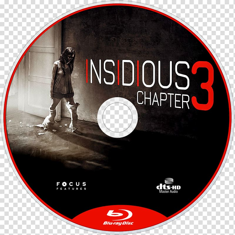 Insidious: Chapter 3 Film director Actor, bluray disc.