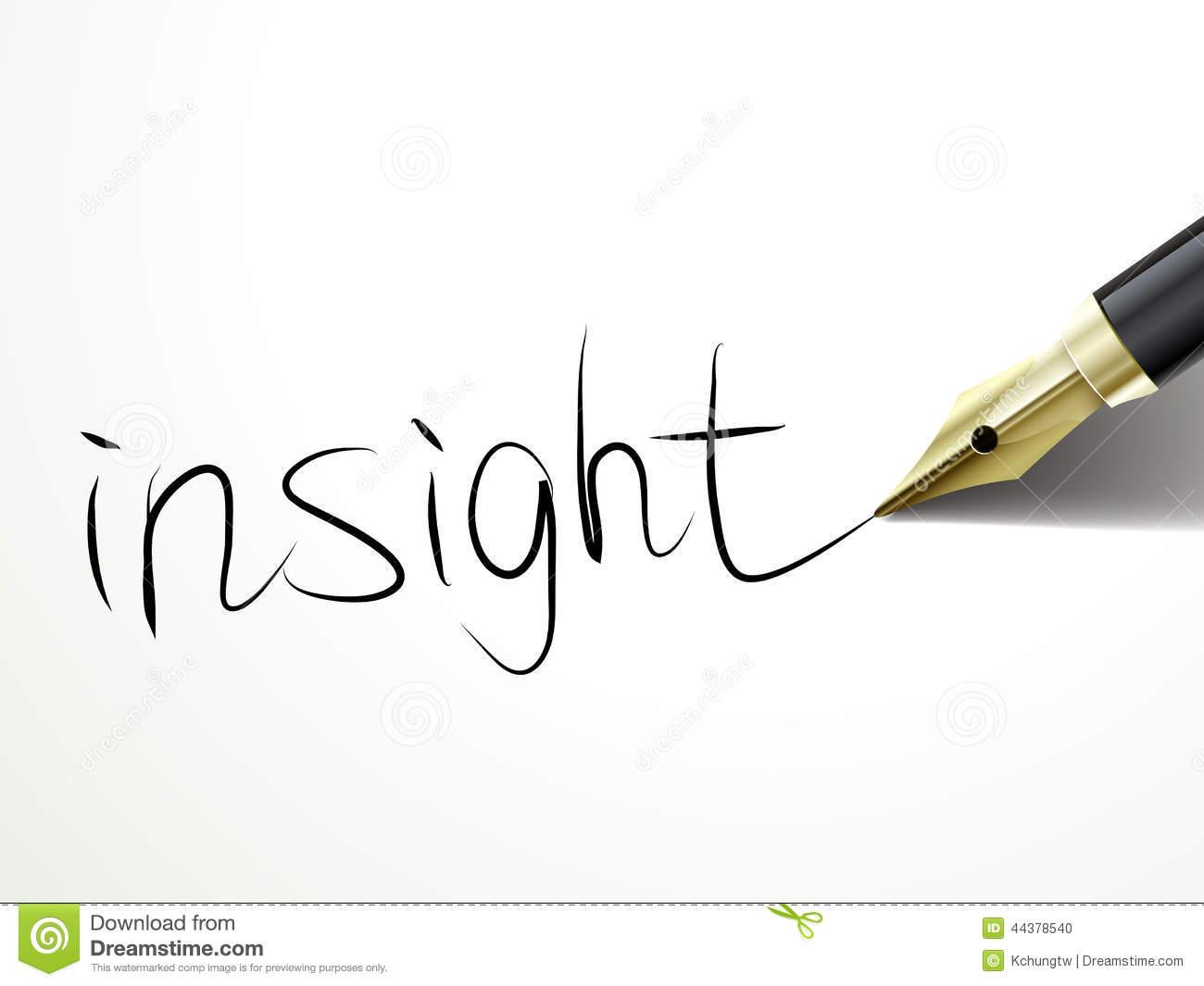 Insight Clip Art.