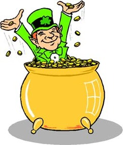 Leprechaun Day At Holiday Insights Clipart.
