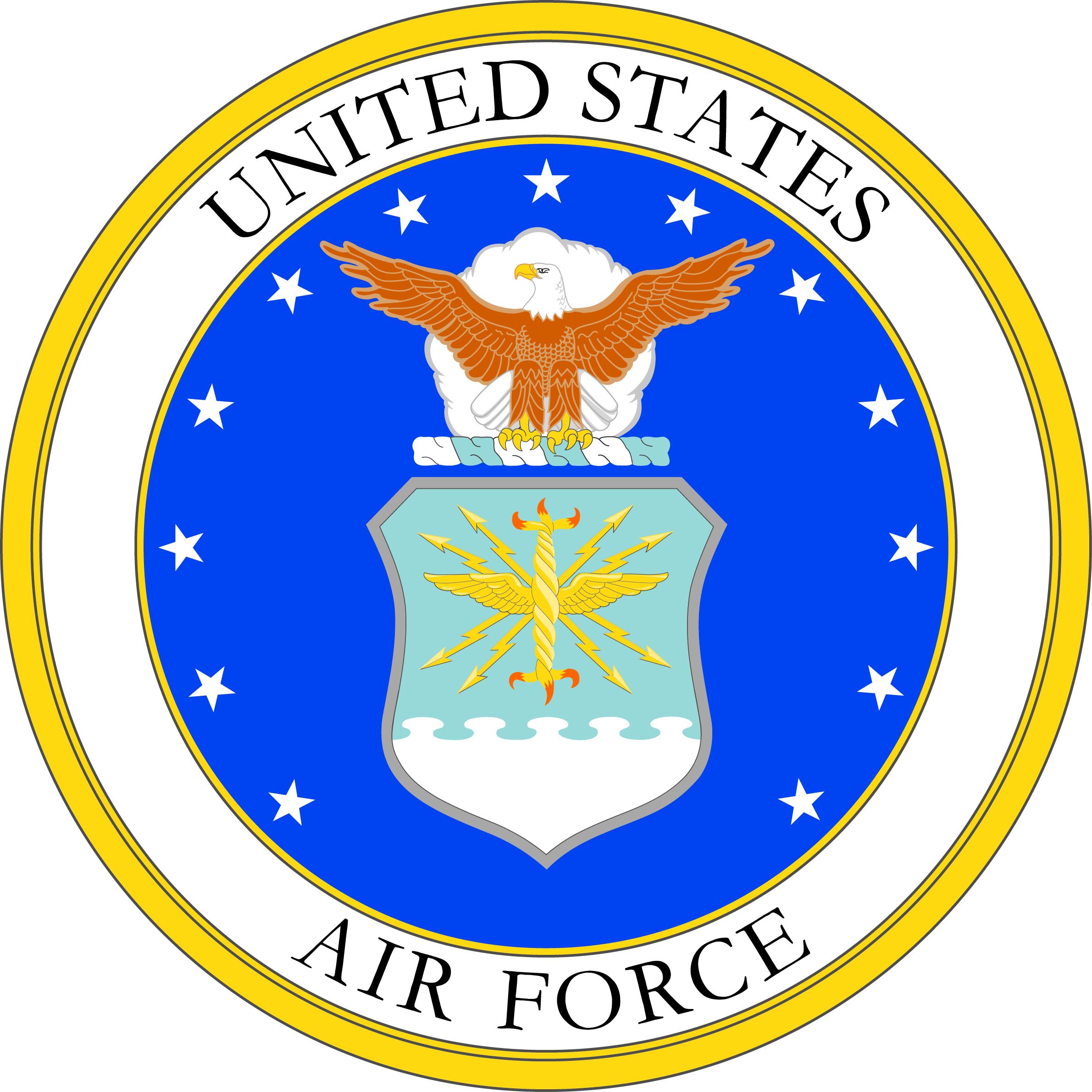 Air force insignia clip art.