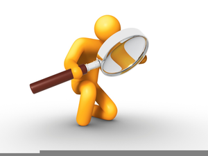 Visual Inspection Clipart.