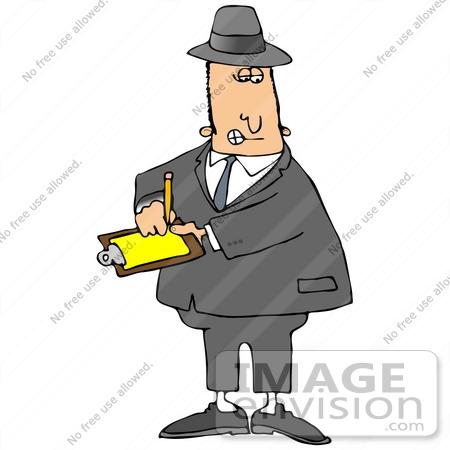 Inspector clip art.