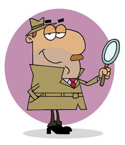 Inspector Clipart.