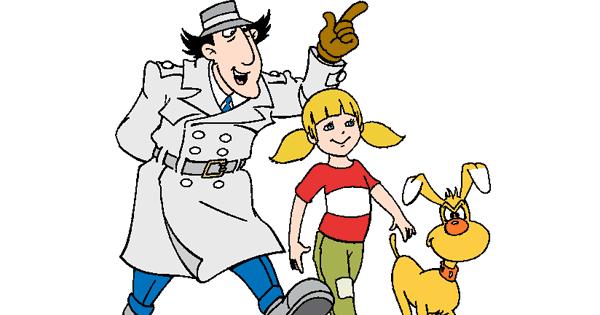 Inspector Gadget Clip Art.