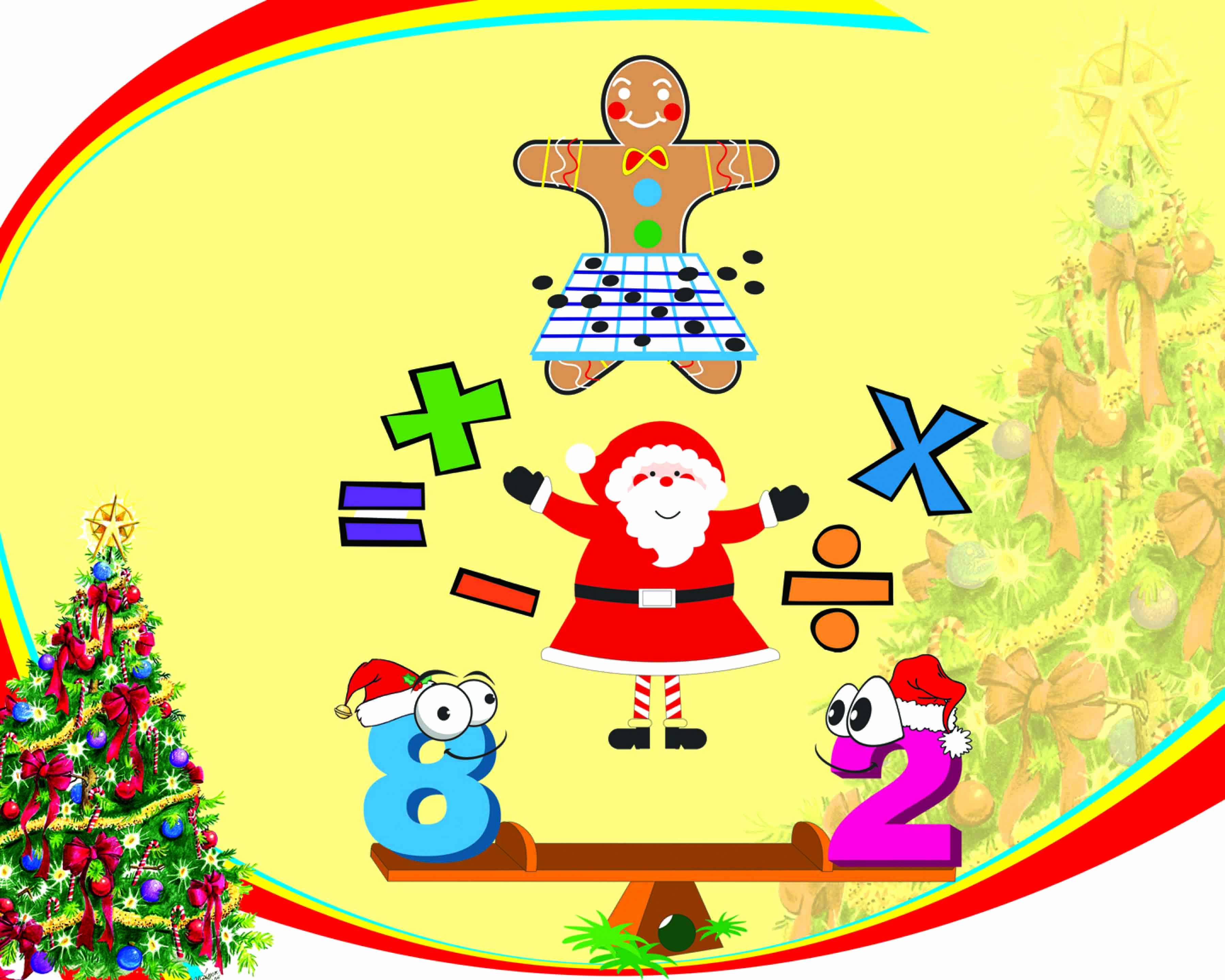 Clip Art Numbers Inspirational Happy Numbers Christmas Clipart Pack.