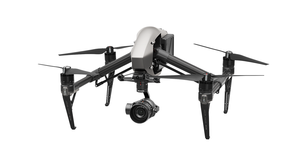 DJI Inspire 2 With Zenmuse X5S Camera CinemaDNG and Apple ProRes.