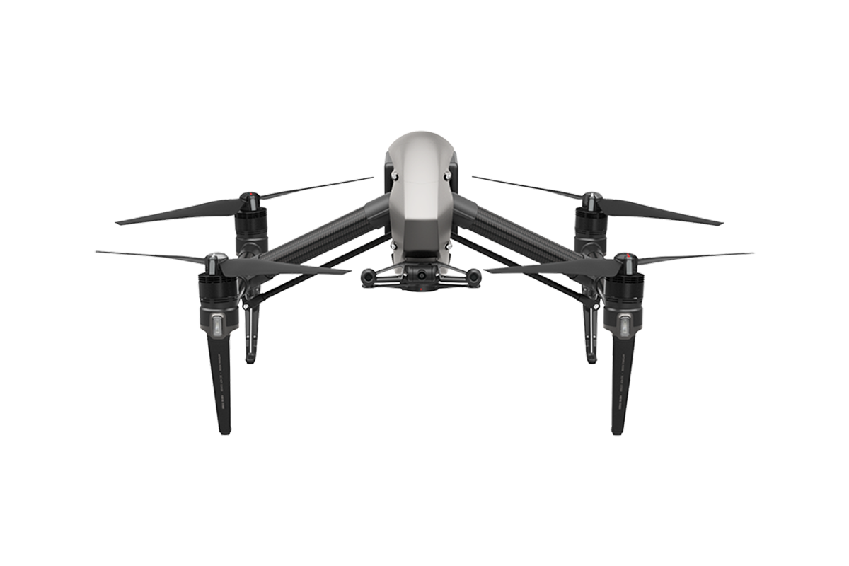 DJI Inspire 2 Aircraft Only (Part 40) (No Remote, No Charger).