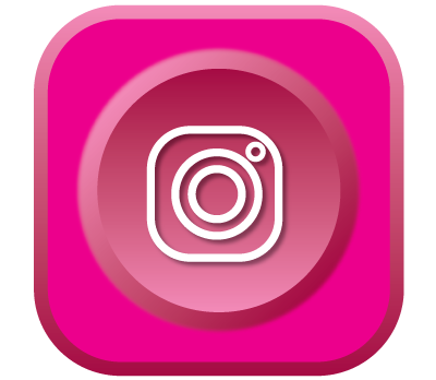 Instagram 3d icon.
