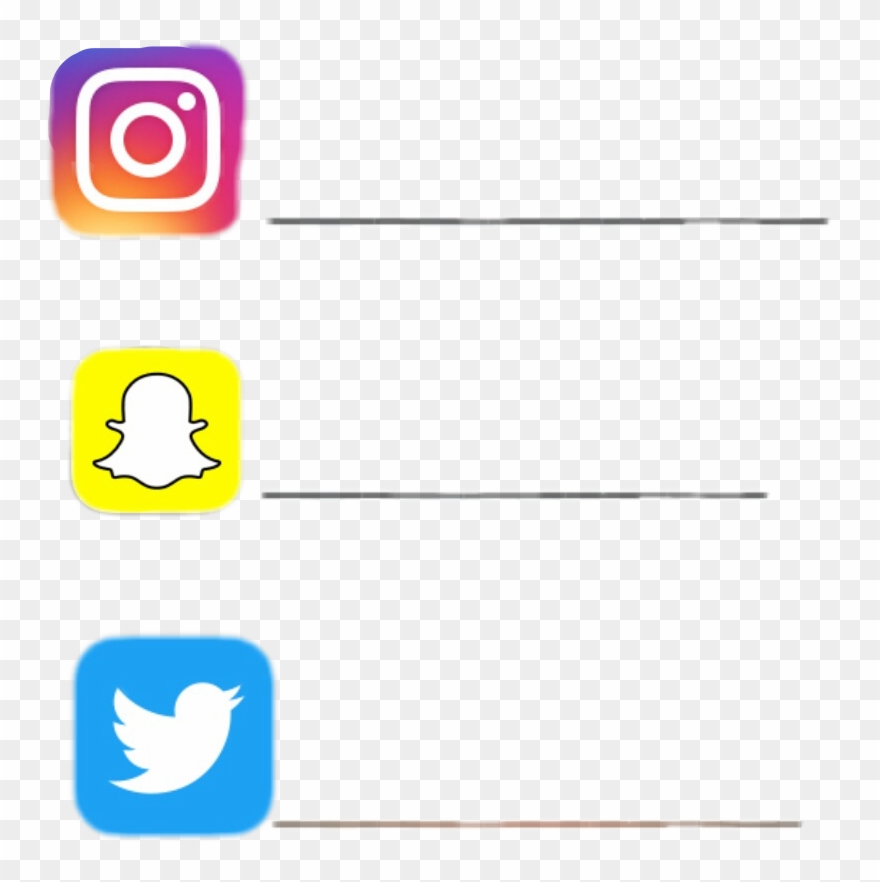 Instagram Clipart Snapchat.