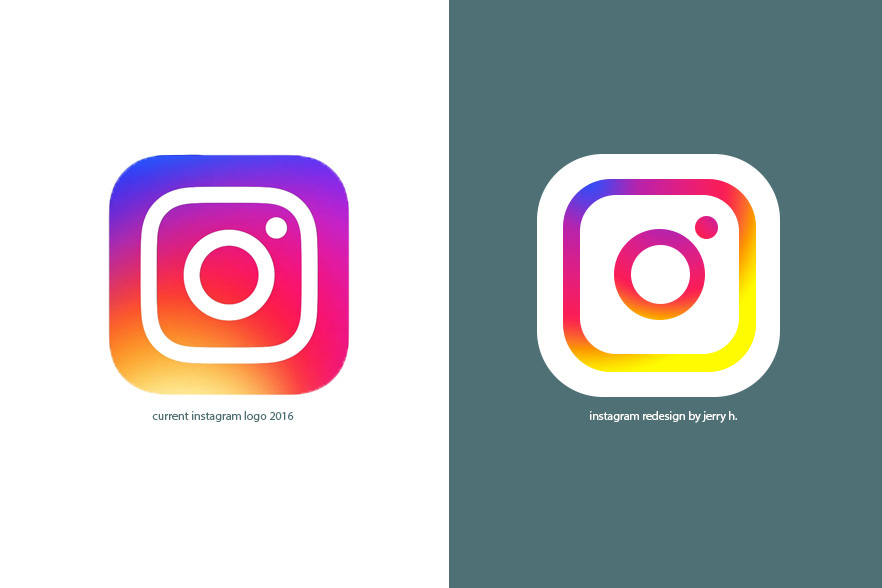 Instagram App Logo redesign on Behance.