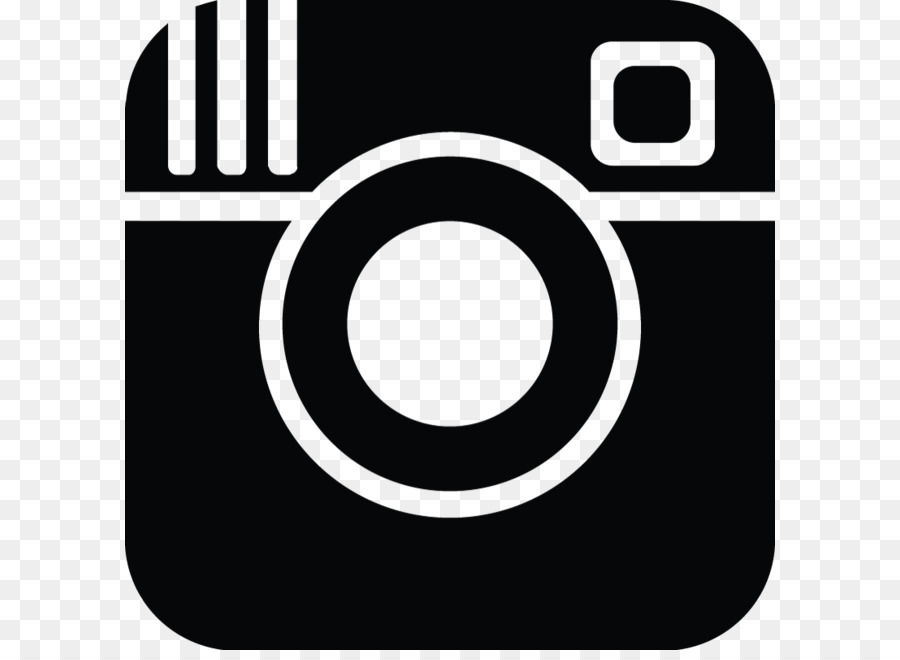Instagram Icon Black And White Png #88029.