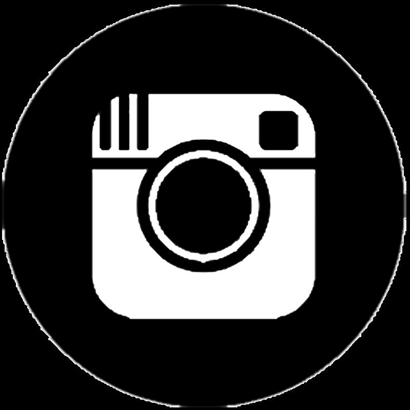 Black Instagram Icon #11206.